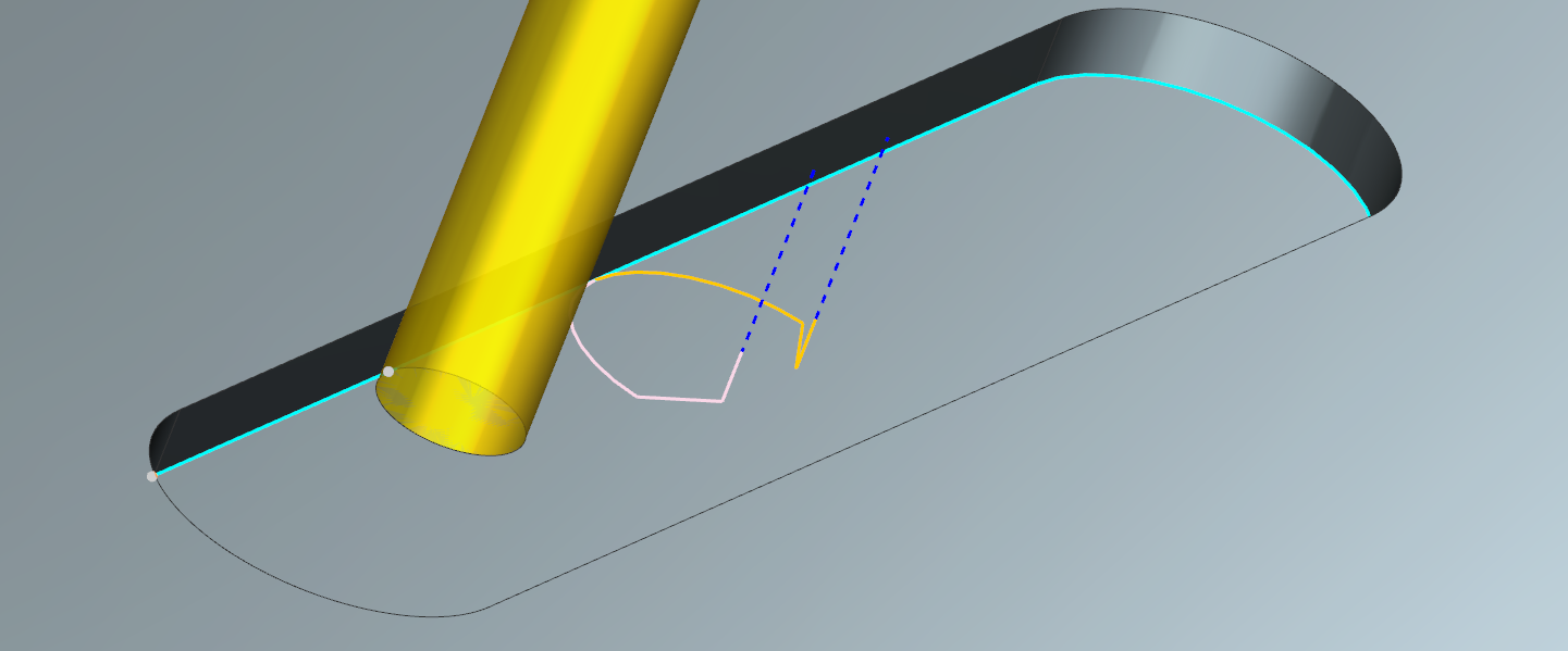 Cutter compensation output from NX CAM