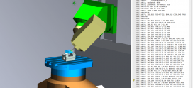 NC-code simulation in NX CAM